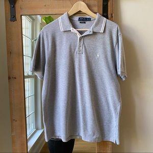 Polo by Ralph Lauren Grey Polo Shirt